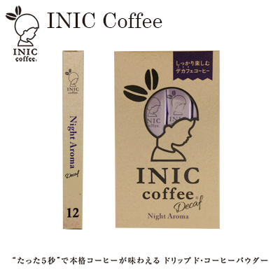 INIC coffeenightaroma 12 pieces (decaffeinated) / inch Coffee Night Aroma