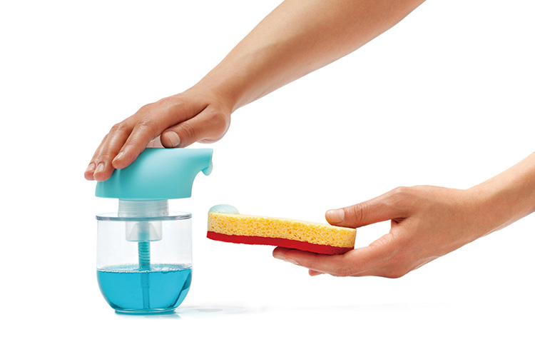 Silicone zone soap dispenser / silicone zone