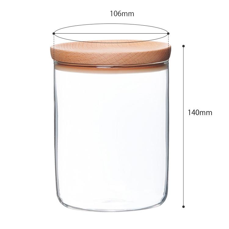 KINTO BAUM Baum canister 800 ml / KINTO
