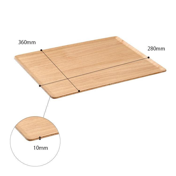 亲戚餐垫餐垫 360 x 280 毫米桦木 2 件套/亲戚