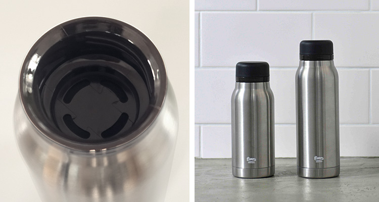 smart kitchen rivers made of stainless steel portable thermos