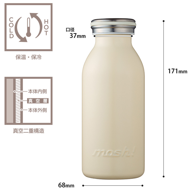 MOSH!  Bottle 350 ml / MOSH