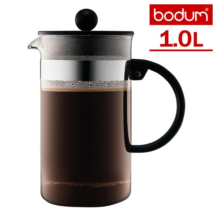 布杜姆 bistronouvor 1。 0 l 咖啡壶和 NOUVEAU 波顿小酒馆