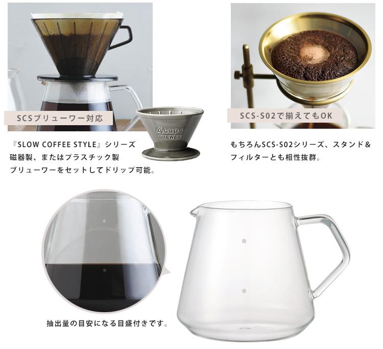 咖啡的親戚伺服器 600 毫升 SCS S02 / 親戚