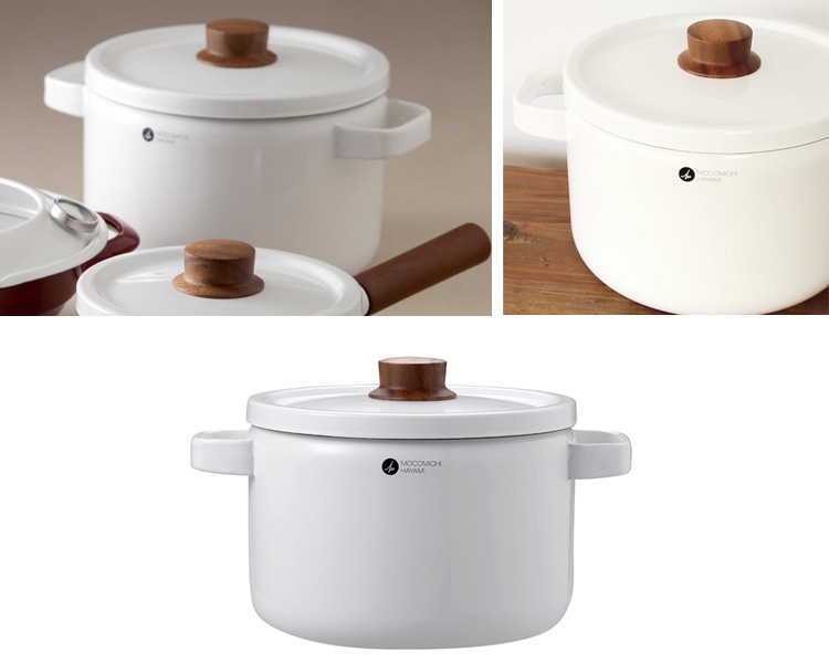 Hayami mokomichi × HoneyWare 22 cm deep casserole
