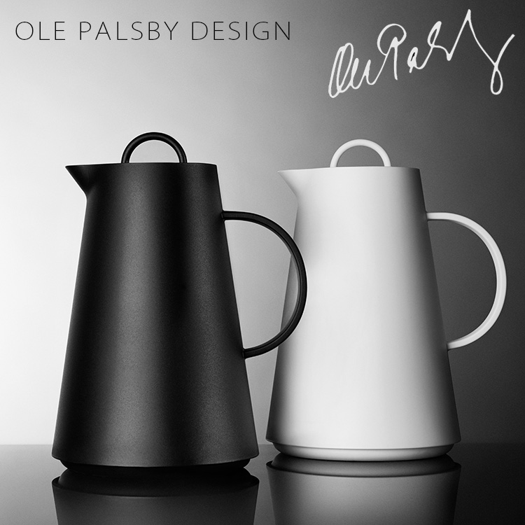 PALSBY 設計真空壺由玻璃桌面魔法瓶 1。 0 l/OLE 巴黎 Vie 設計