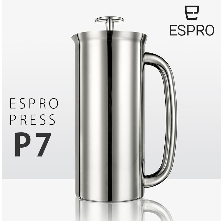 Espro press フレンチプレス P7 ミラー /エスプロ・プレス 【ポイント5倍/送料無料/お取寄せ】【p0908】