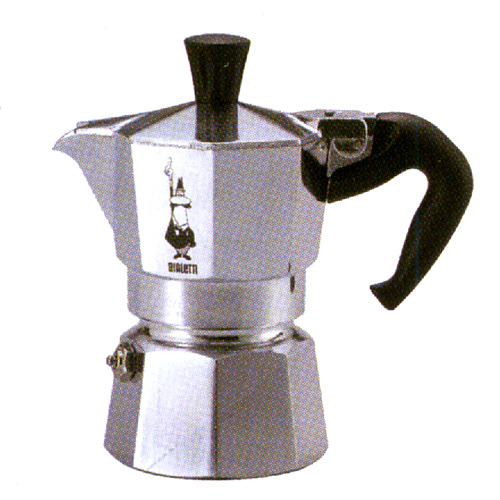 BIALETTI company * open fire type espresso maker Mocha express (one cup of business) fs3gm