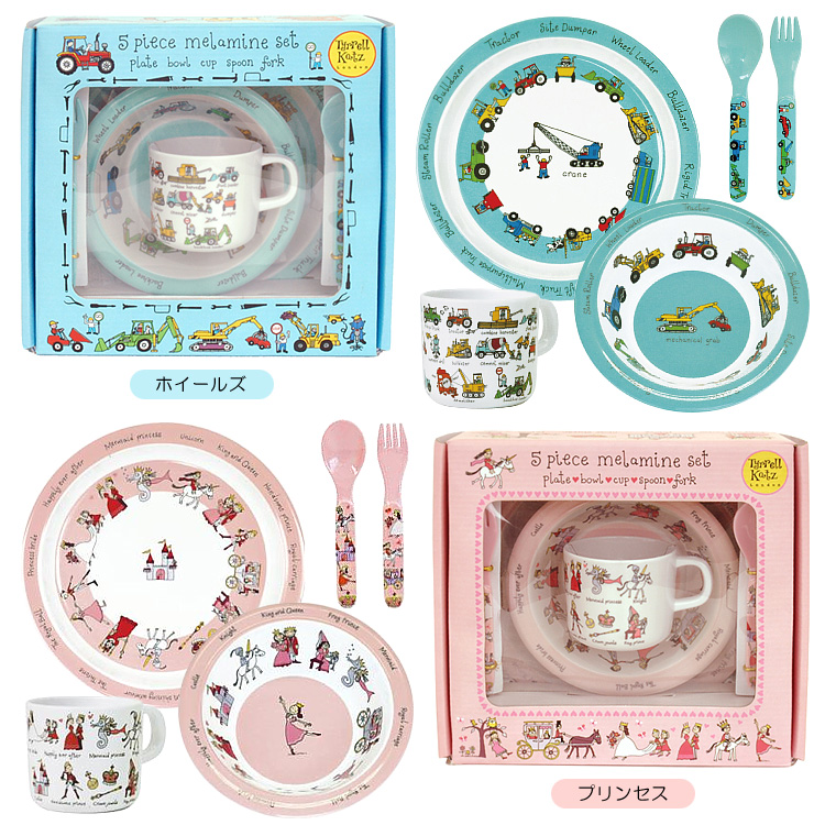 Cute illustrations of Tyrrell tableware. Melamine resin material so light and hard to crack because it from the baby food baby. And the plates bowls ...  sc 1 st  Rakuten & Smart Kitchen | Rakuten Global Market: Tyrrell Katz melamine ...
