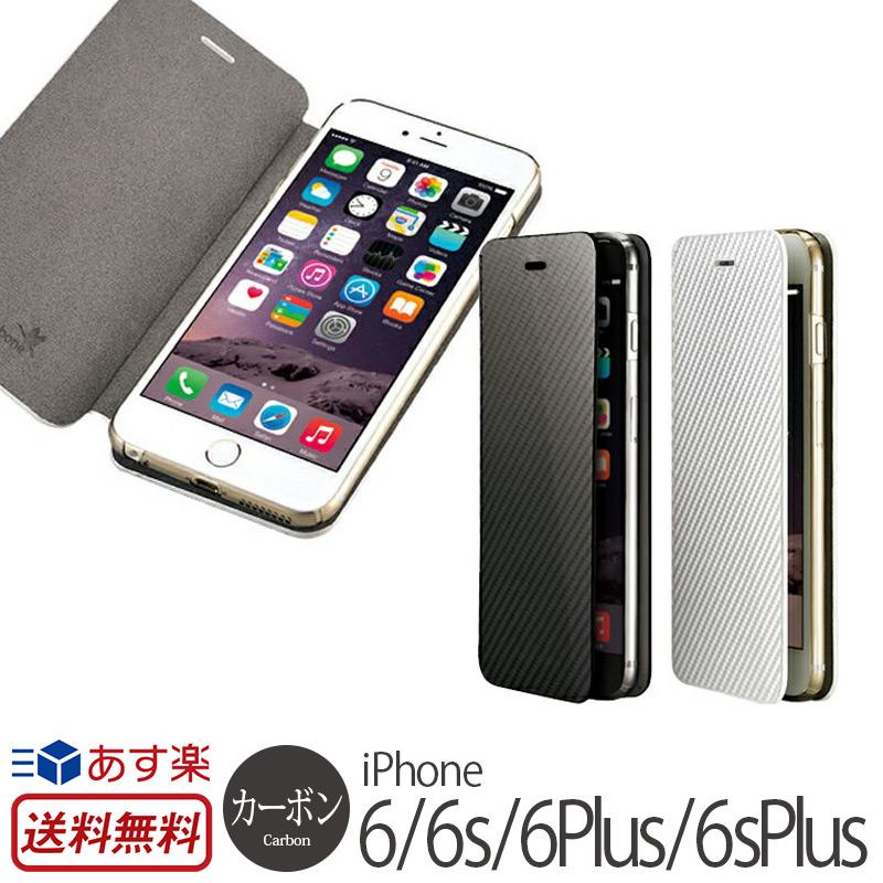 fecc9e7037 【送料無料】iPhone6/iPhone6Plus手帳型ケース monCarbonePortfolioiPhone6/6PlusCaseiPhone6Plusアイフォン6アイホン