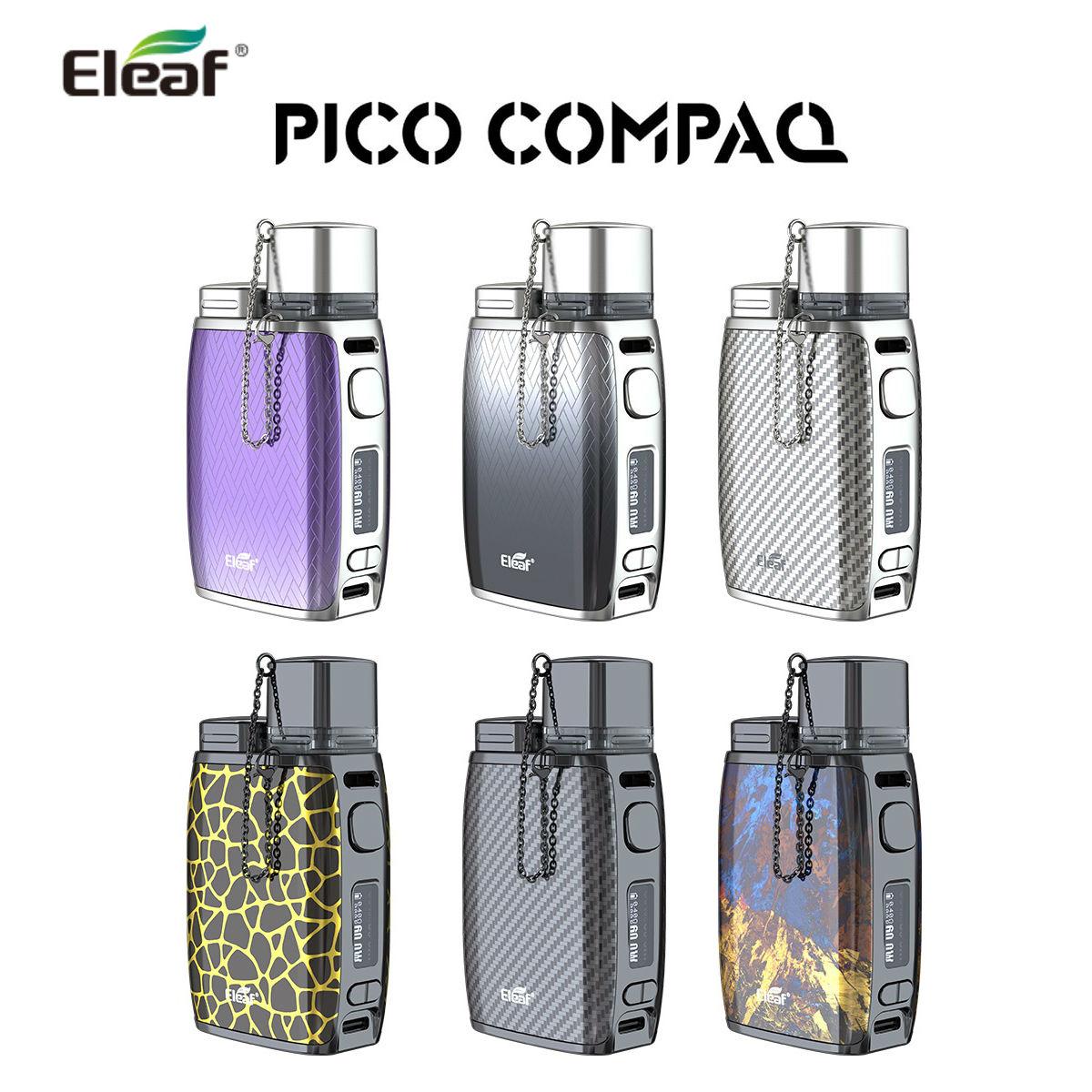 あす楽 送料無料 Eleaf イーリーフ Pico Compaq ピココンパックCompaq 最新アイテム ストア コンパック ピコ COMPAQイーリーフ kit