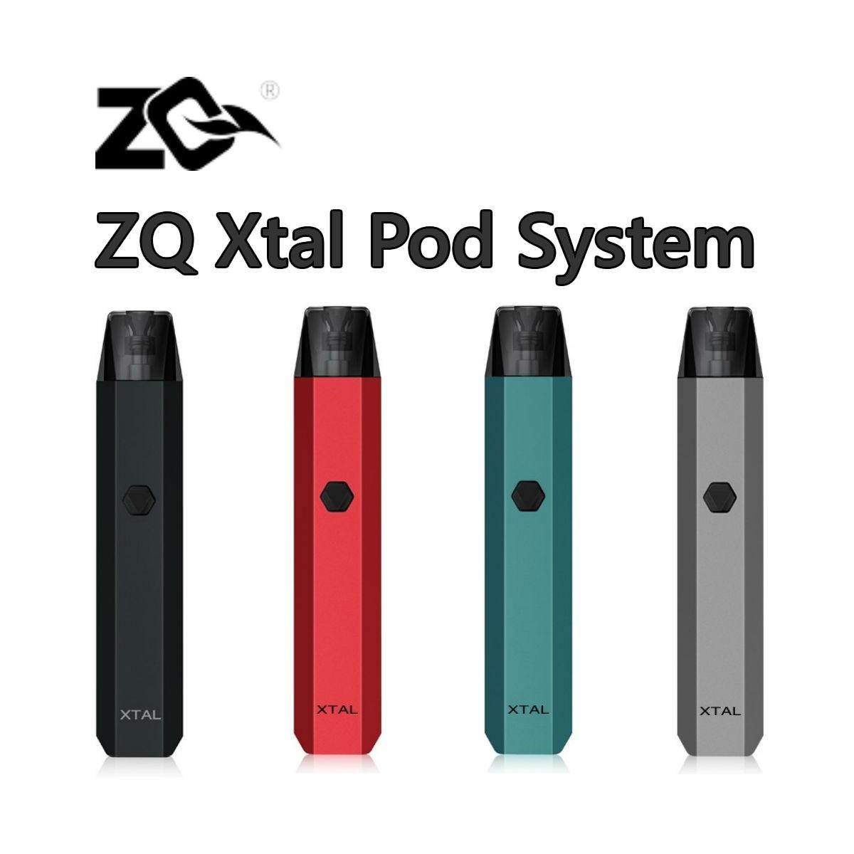 メール便送料無料 在庫処分セール ZQ 販売期間 限定のお得なタイムセール Xtal ギフト Pod System 520mAh 1.2Ω Vapor 1.8ml ポッド カートリッジ付 ゼットキュー 味が出て液漏れしにくい話題のPOD エクスタル