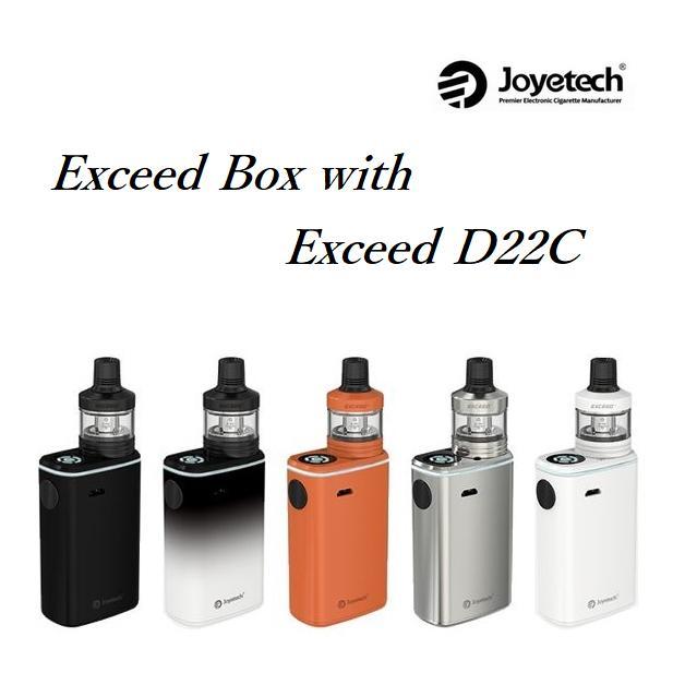EXCEED BOX with EXCEED D22Cジョイテック エクシードボックスとエクシード22Cアトマイザー 電子タバコ 電子たばこ セット VAPE MOD