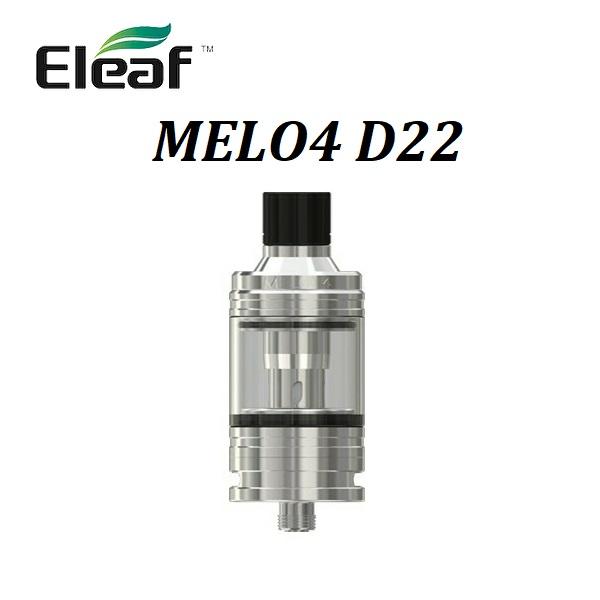人気急上昇 あす楽 メール便で送料無料もできます Eleaf MELO4 Atomizerイーリーフ メロー4 D22 至高 D22アトマイザー