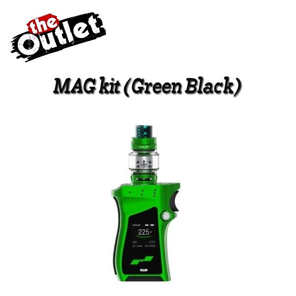 【訳アリ】【送料無料】【あす楽】SMOK Mag Kit with TFV12 Prince Tank[Green Black] スモックマグキット グリーンブラック
