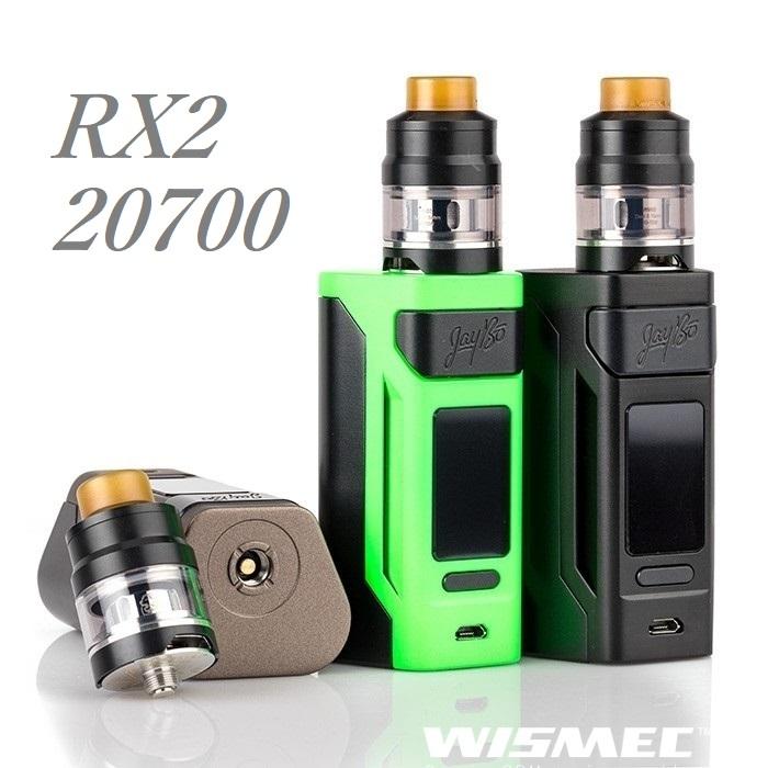 【あす楽】【送料無料】WISMEC Reuleaux RX2 20700 with GNOMEウィズメック ルーローRX2 20700 +ノーム電子タバコ 電子たばこ セット VAPE MOD