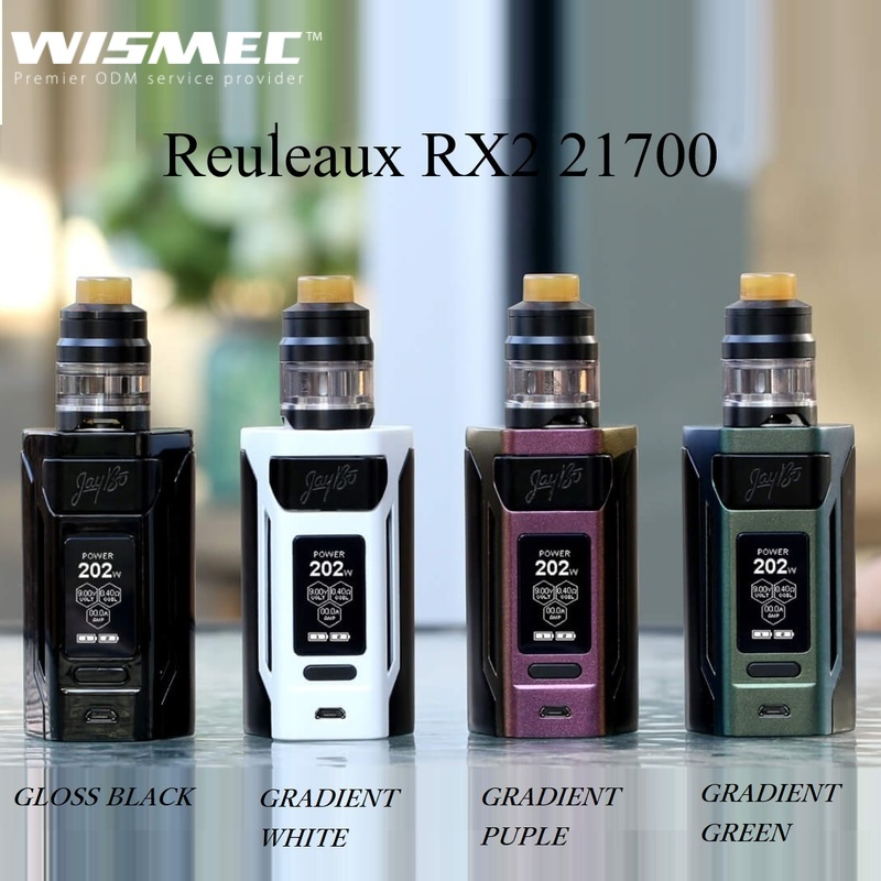 WISMEC Reuleaux RX2 21700 with GNOME ウィズメック ルーローRX2 21700 +ノーム