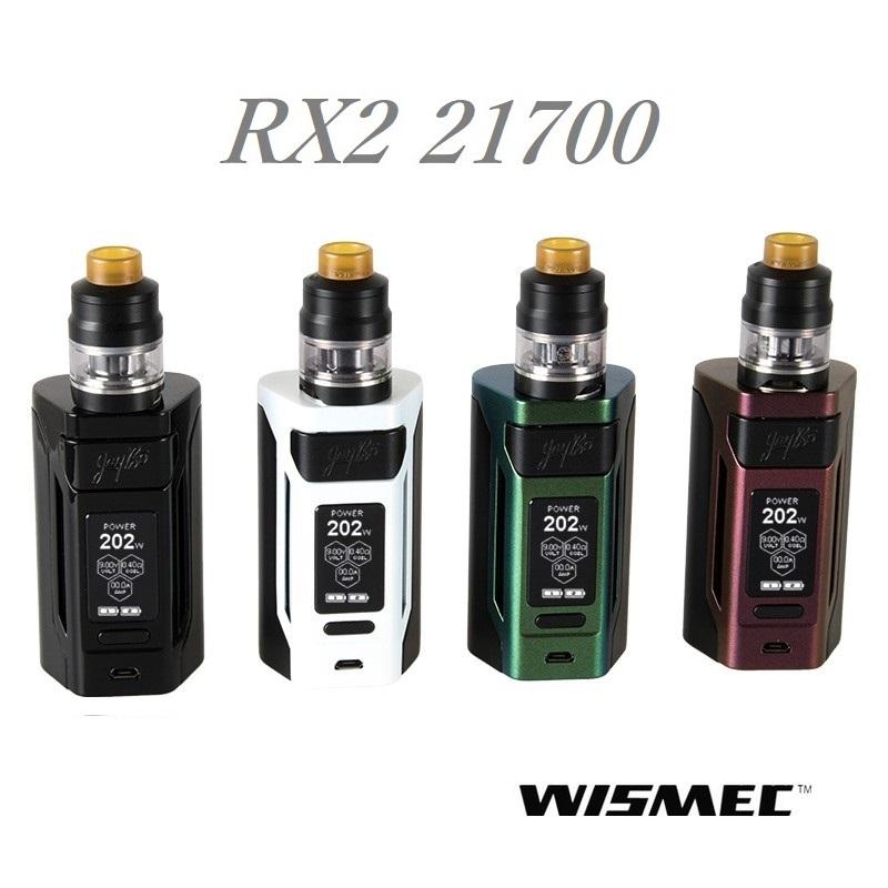 【あす楽】【電池付】WISMEC Reuleaux RX2 21700 with GNOME ウィズメック ルーローRX2 21700 +ノーム