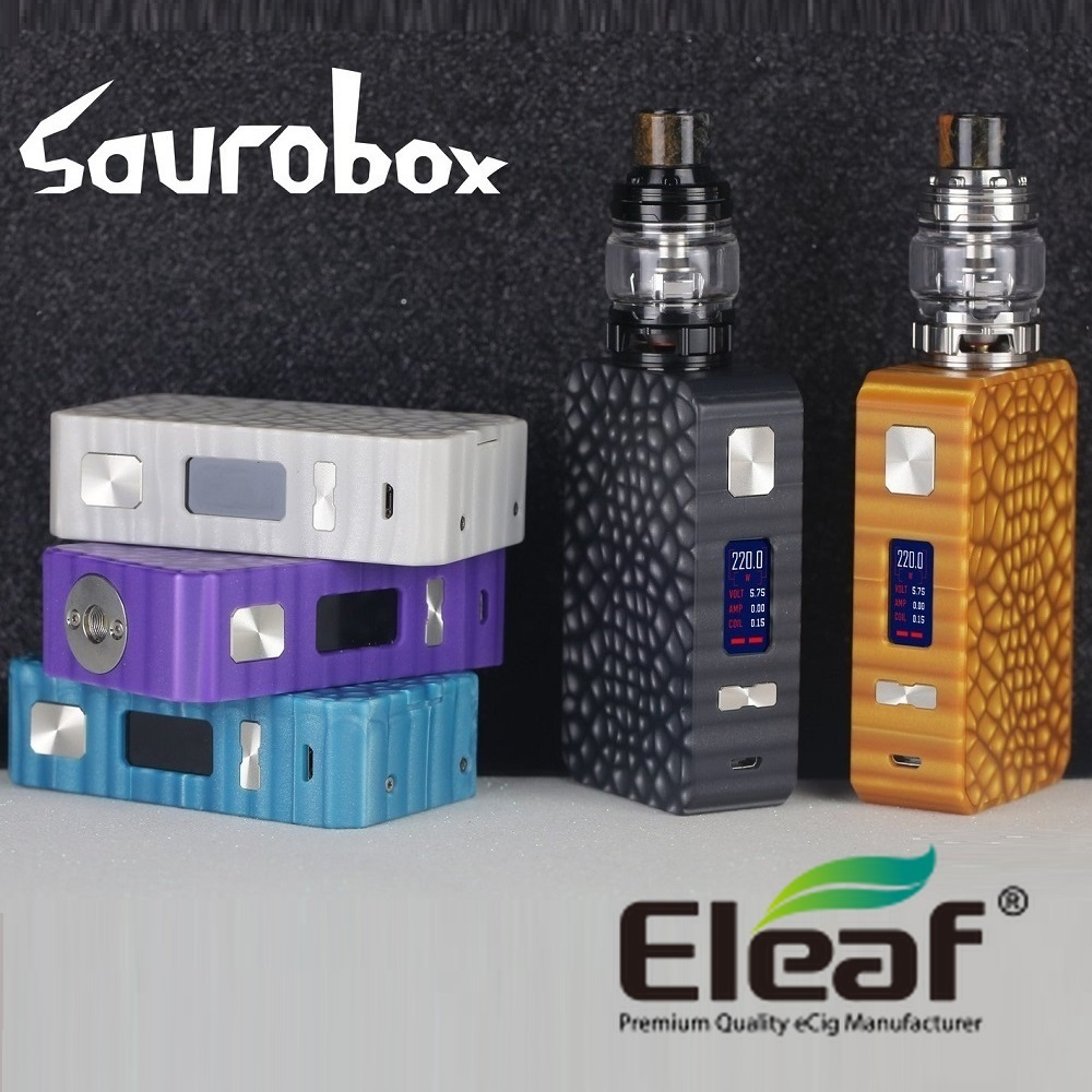 【あす楽】【送料無料】Eleaf Saurobox with ELLO Duro サウロボックス スターターキット電子タバコ VAPE