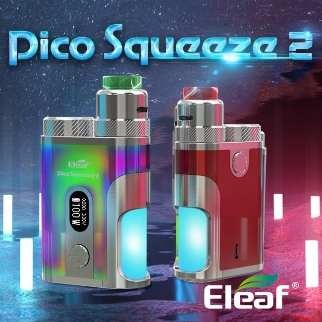 【あす楽】【送料無料】Eleaf Pico Squeeze 2 with Coral 2 スターターキット 電子たばこ VAPE