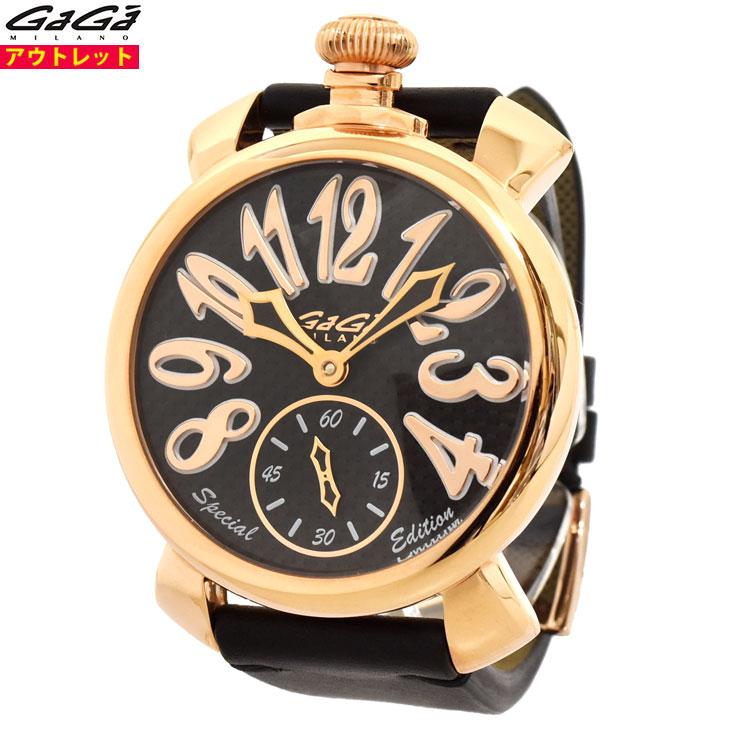 ガガミラノ 腕時計 新品・あす楽・アウトレット 5011.SP.01 マヌアーレ 48mm スペシャルモデル マニュアーレ 手巻き スイス製 メンズ
