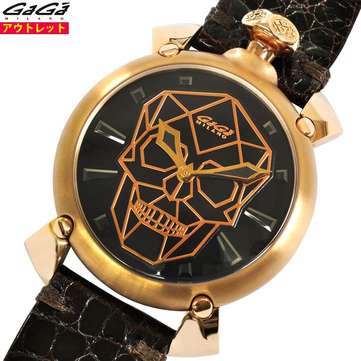 ガガミラノ 腕時計 新品・アウトレット 世界500本限定 6011.01S バイオニックスカル 45mm 自動巻き SWISS スイスムーヴメント メンズ あす楽