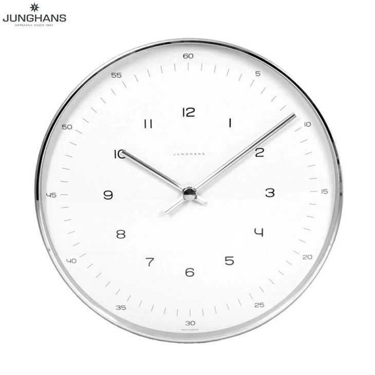 【あす楽】 JUNGHANS ユンハンス 掛け時計 367/6048.00 マックスビル クォーツ 直径21.5cm 【楽ギフ_包装選択】【並行輸入】【掛時計】【時計】【新品】