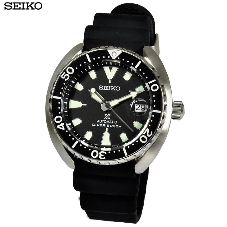 【あす楽】 SEIKO セイコー 腕時計 SRPC37K1 プロスペックス 自動巻き ブラック 20気圧防水 メンズ 【自動巻き】【逆輸入】【時計】【海外モデル】【黒】