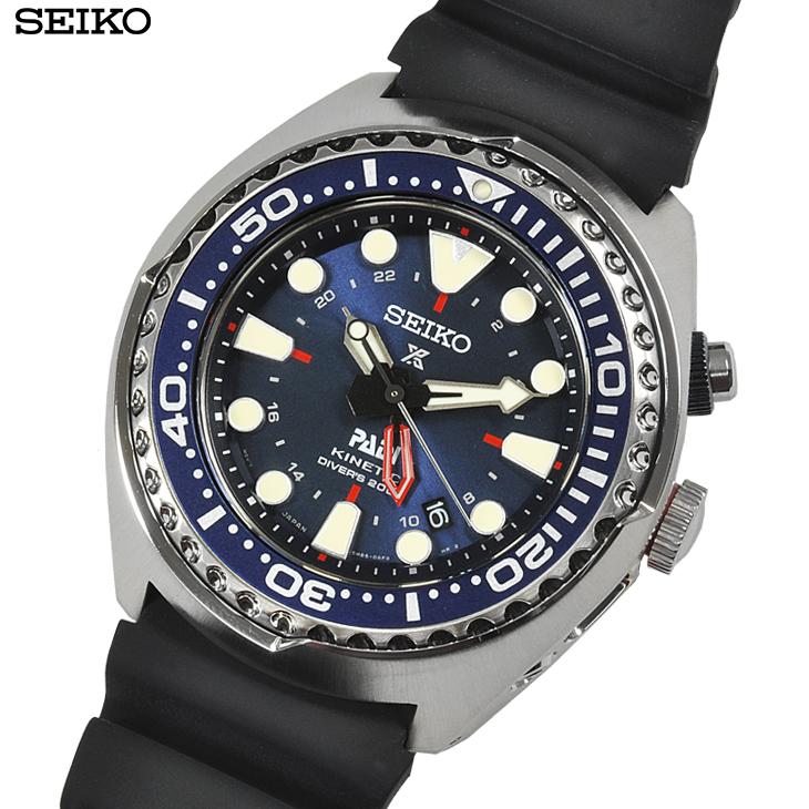 SEIKO セイコー 腕時計 SUN065P1 新品・あす楽 プロスペックス キネティック GMTダイバー PADIエディション 20気圧防水 メンズ