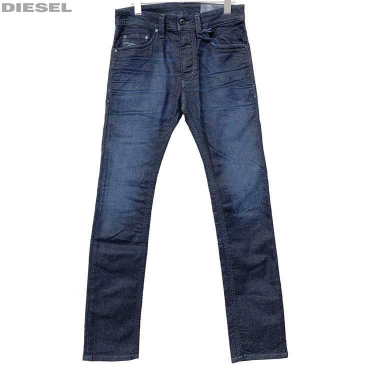 DIESEL ディーゼル 新品 ジョグジーンズ ダメージ加工 メンズ デニム パンツ THAVAR-NE 00S5BL 0678P 01 サイズ 26 28 30 32 ジョグデニム レターパックプラスで送料無料