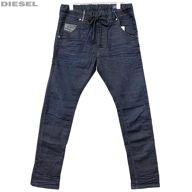 DIESEL ディーゼル 新品 ジョグジーンズ メンズ デニム パンツ KROOLEY-NE 00CYKI 0829P 01 サイズ 26 28 30 32 34 ジョグデニム レターパックプラスで送料無料