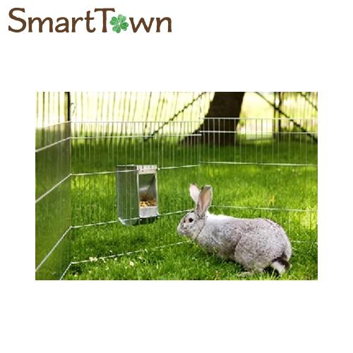 5 ギフ_包装 980円以上のお買い上げで送料無料 サヴィッチ SAVIC ジンクプレート プレゼント バニー 亜鉛製ウサギ用エサ入れ