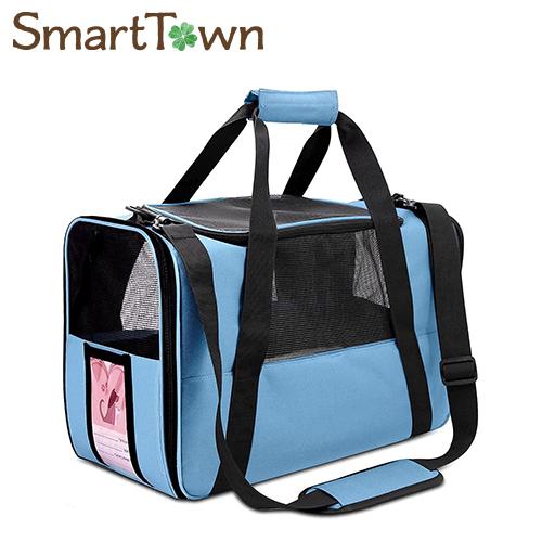 5 店内限界値引き中 セルフラッピング無料 980円以上のお買い上げで送料無料 超安い ペット ショルダー キャリーバッグ ブルー