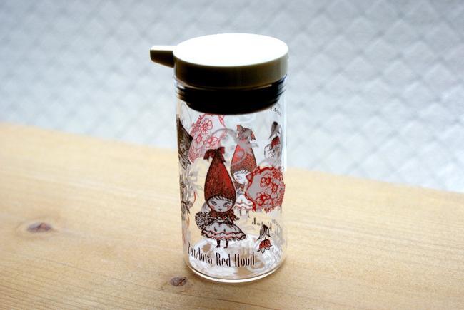 Syndicate Pandora Alice soy sauce bottle-glass Shinzi Katoh Soy source Bottle Pandora Alice Soy source bottle