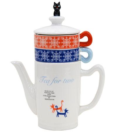 ティーフォーツー Teapot Cup Set Syndicate Design Products A Commercial Designer Shinzi Katoh Tea For Two