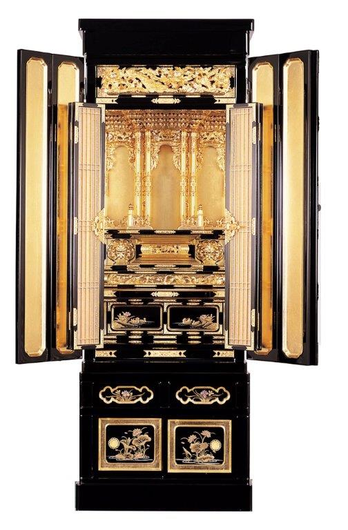 京型台付 月光(ゲッコウ)   高さ137cm幅49cm奥行47cm