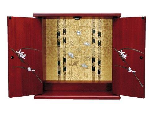 【国産】 激安 ミニ仏壇 やまと 小サイズご注文いただいてから約1週間のお届けとなります