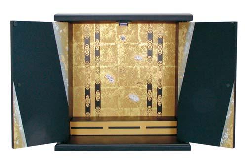 【国産】 激安 ミニ仏壇 錦  小サイズ  ※ご注文いただいてから約1週間後のお届けとなります。