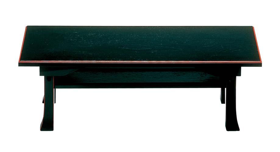 日本製 二月堂机(棚板付) 木製 【50号】