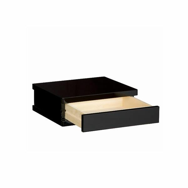 金仏壇専用台・黒塗りヨケ台 大引出付(小サイズ・中サイズ・大サイズからお選びいただけます)
