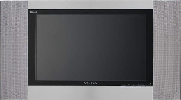 リンナイ 15V型 地上デジタルハイビジョン浴室テレビ YUGA【DS-1500HV(A)】