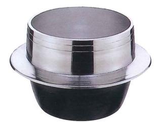 アルミ鋳物羽釜 口径 16cm【HGAL16】(アルミ羽釜)