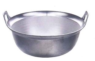 アルミ鋳物段付鍋 39cm ALDN39L45AjR