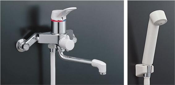 LIXIL(INAX) シングルレバーシャワー水栓 【BF-M135S】