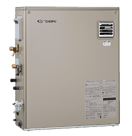 長府*CHOFU* KIBF-4764DA 石油給湯器 水道直圧式 給湯+強制追いだき オート 屋外設置型
