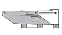 リンナイ ガス瞬間湯沸器用防熱板 RU-08BC しゃ熱板