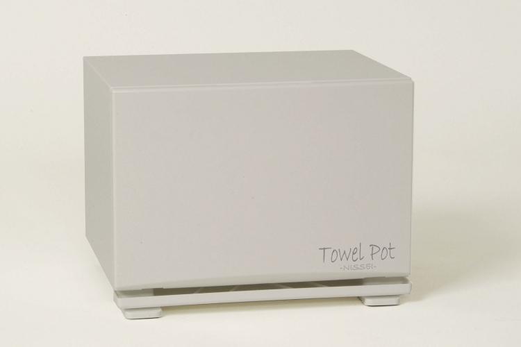 アンナカ(ANNAKA) / ニッセイ(NISSEI) タオルポット(タオル蒸し器) ホワイト(白) TP-35W