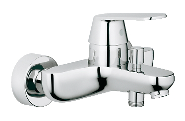 グローエ*GROHE* 【32 831 00J】 EUROSMART COSMOPOLITAN(ユーロスマートコスモポリタン) シングルレバーバス・シャワー混合栓 クローム