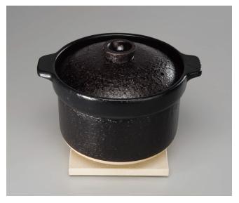 リンナイ ビルトインコンロオプション 【RTR-20IGA】 専用土鍋 かまどさん自動炊き