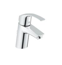 グローエ*GROHE* 【33 265 20J】 EUROSMART(ユーロスマート) シングルレバー洗面混合栓(引棒付) クローム ※32909001後継品